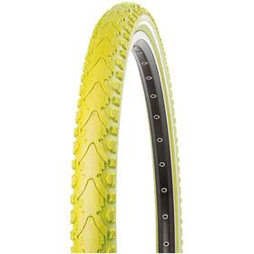"Kenda Khan K-935 Fietsband 28"" draadband geel/wit"
